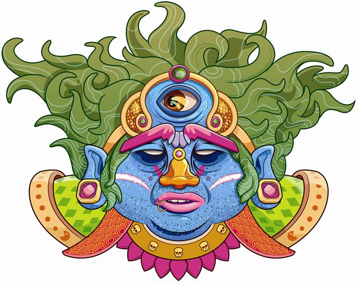 The third eye of Shiva - Paranaue