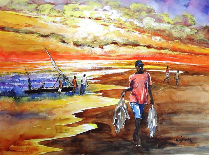 Fishermen - INI BROWN