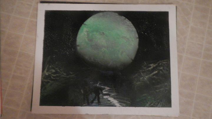 zombie moon - Michael wells