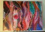 Fine Collaborative Abstract Acrylic