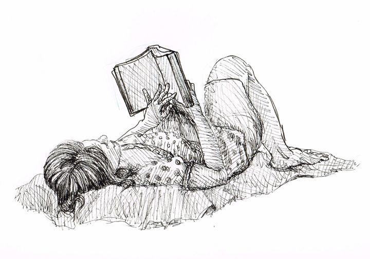 The reader - Zach Nebenzahl