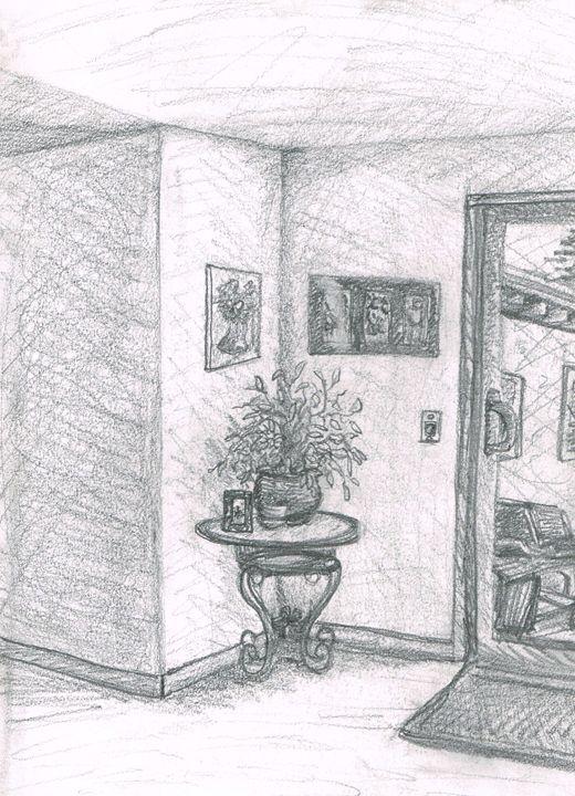 Living room corner - Zach Nebenzahl
