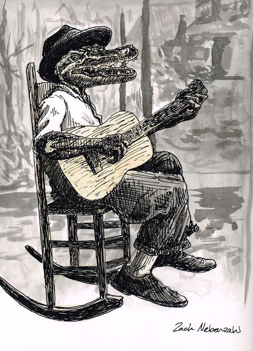 Mississippi John Alligator - Zach Nebenzahl