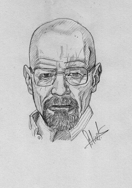 Walter White (Bryan Cranston) - A4 - Gallery - Edward Silva