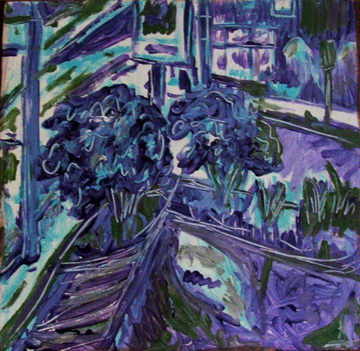 50th Street From My Window - Gretchen Seichrist