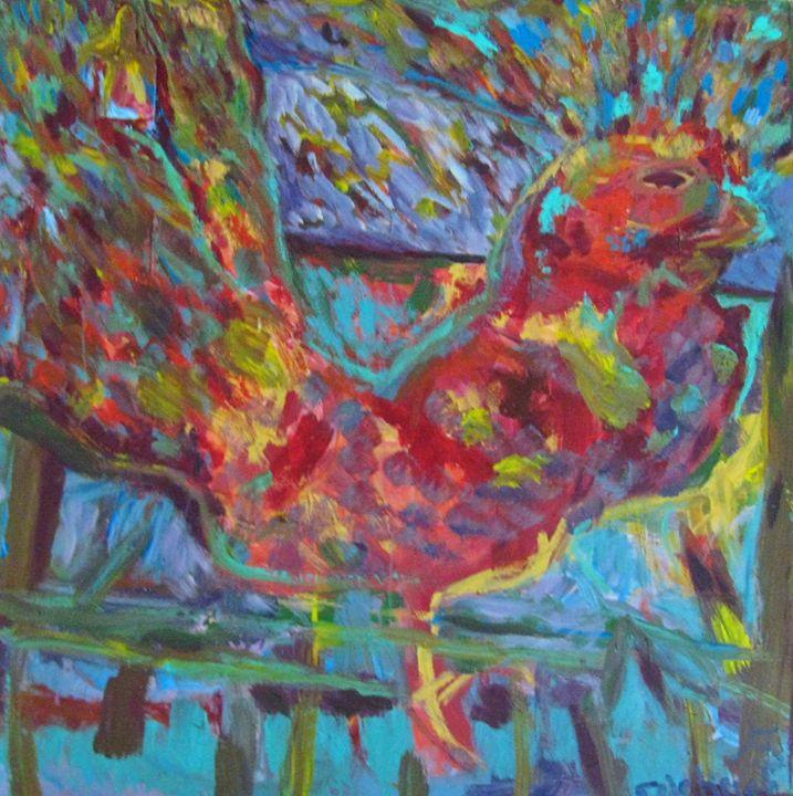 Rooster - Gretchen Seichrist