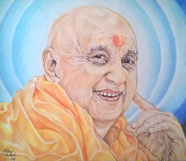 Pramukh Swami Maharaj - Mehul Rathod