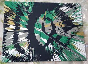 Eyerus - 12x16 Canvas Acrylic