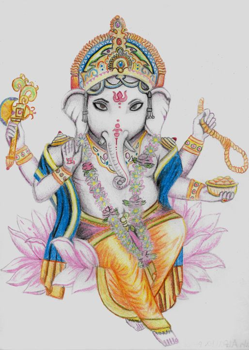 Ganesha - Sarah Alfalla