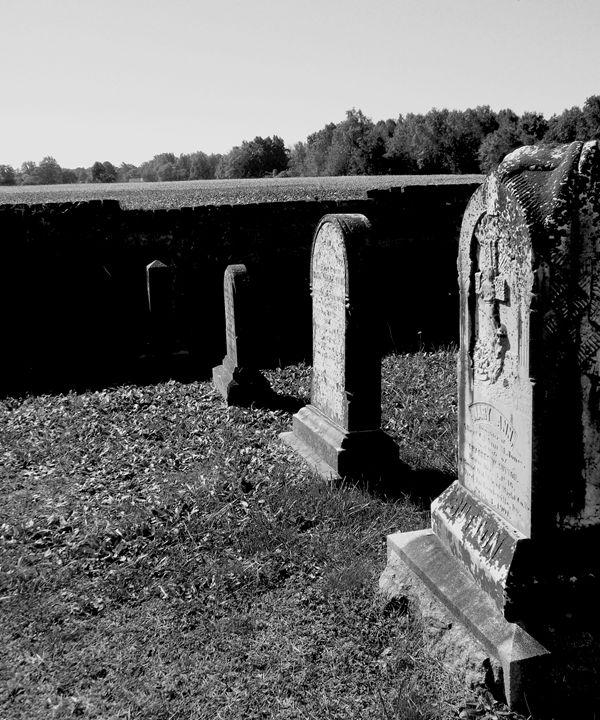 Graves of Old - Angela Ronk 24k FX Design