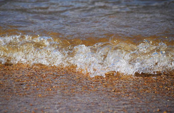 Water on the Beach - Angela Ronk 24k FX Design