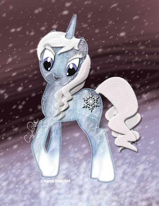 Ice Unicorn - Angela Ronk 24k FX Design