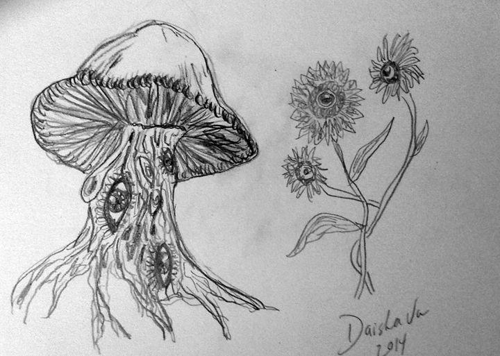 mushroom eyes - DaishaVu