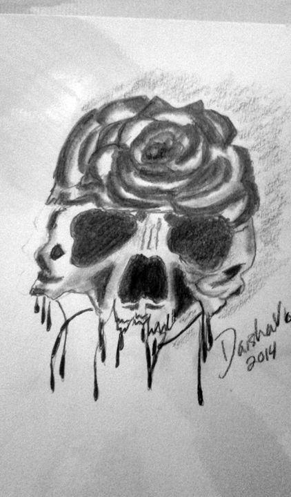 rose skull - DaishaVu