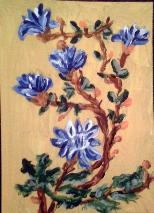 Blue Flowers - DaishaVu
