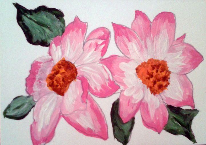 Pink flowers - DaishaVu