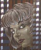 10x14in. original art Braids