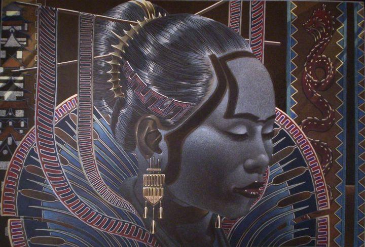 Blue Crystal - Lawrence Jones