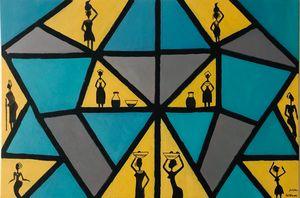 Geometric Tribal Art