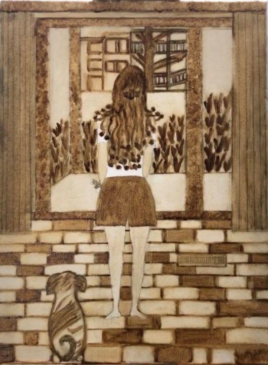 Coffee Painting - Artsy Paintings