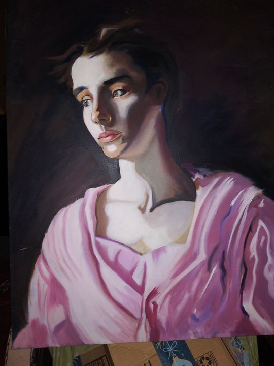 Student replica of classic - Stephanny Peralta
