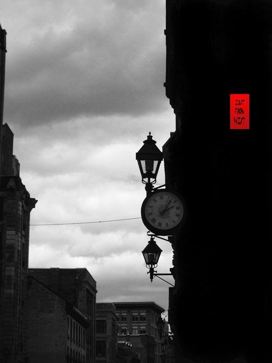 Storm Clock - DARKCITY TOONS