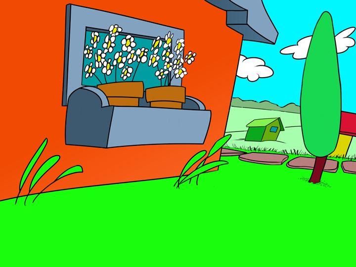 Green Lawn - DARKCITY TOONS