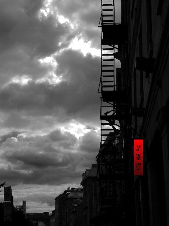 Ladder to Heaven - DARKCITY TOONS