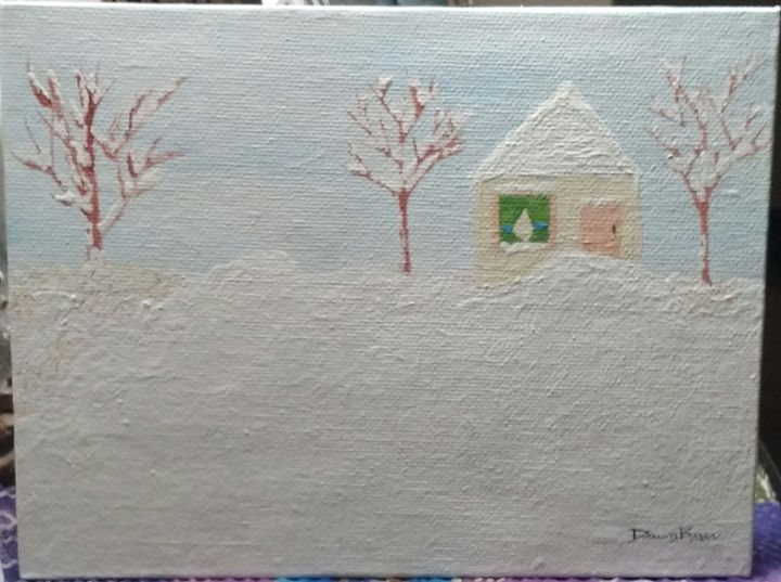 Cozy Winter Cabin - Dawn Byer