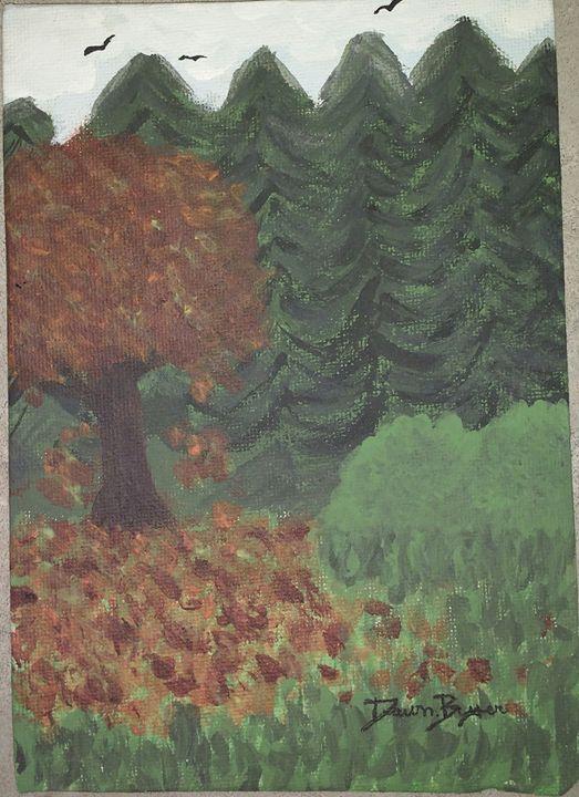 Fall Forest - Dawn Byer