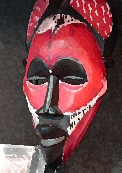 African In Red - Your Heart Services  Dynisha Cole (c) 2014