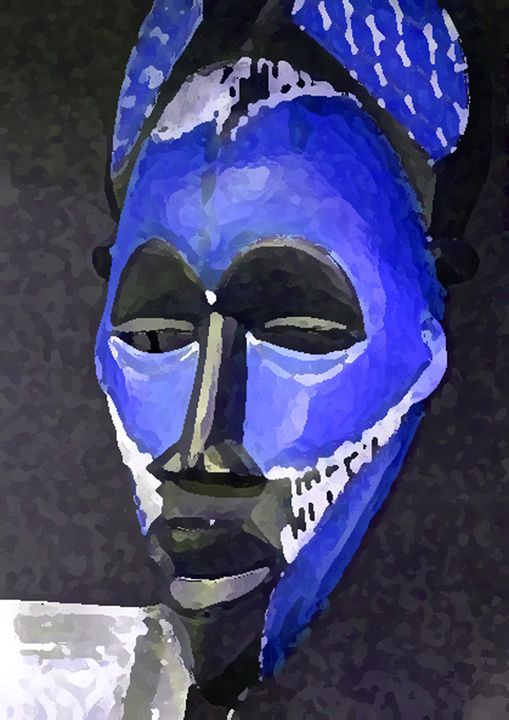 African In Blue - Your Heart Services  Dynisha Cole (c) 2014