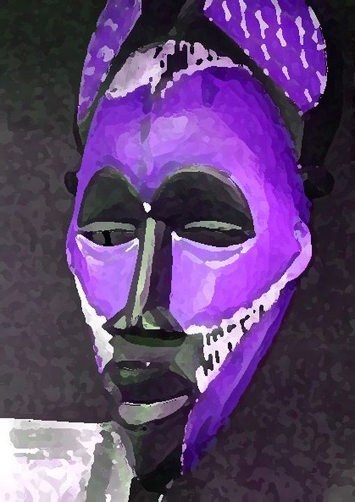 African In Purple - Your Heart Services  Dynisha Cole (c) 2014