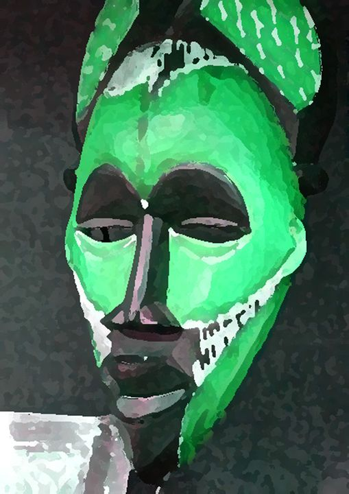 African In Green - Your Heart Services  Dynisha Cole (c) 2014