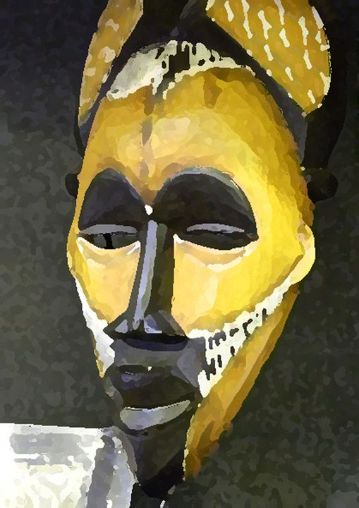 African In Yellow - Your Heart Services  Dynisha Cole (c) 2014