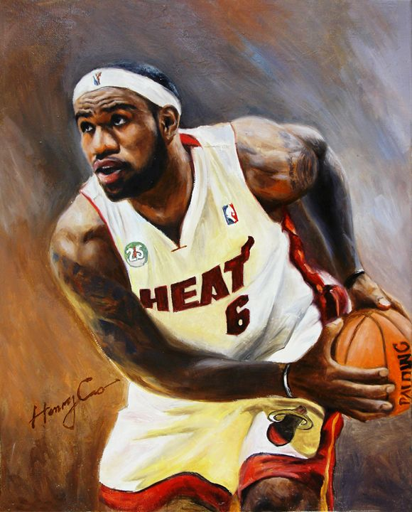Lebron James - Henry Cao Gallery