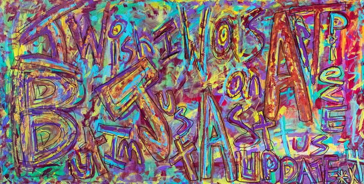 015 - I Wish I Was An Art Piece But - imadrugdealer