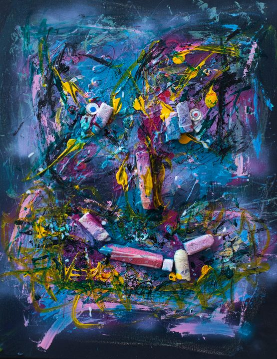 019 - Chalk Face - imadrugdealer