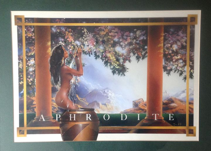 Aphrodite Greek Goddess of love - The Art of Drew Norman