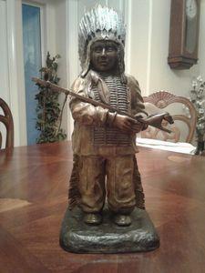 Cheyenne Boy - Native American Bronzes