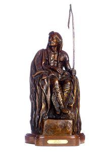 Elk Foot - Native American Bronzes