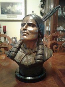Quanah Parker - Native American Bronzes
