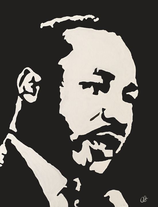 Martin Luther King Jr. - Derrick Reeves #HypeArt