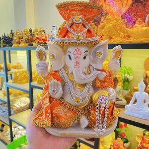 Genesha Elephant God Statue