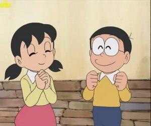 Nobita and Shizuka couple.