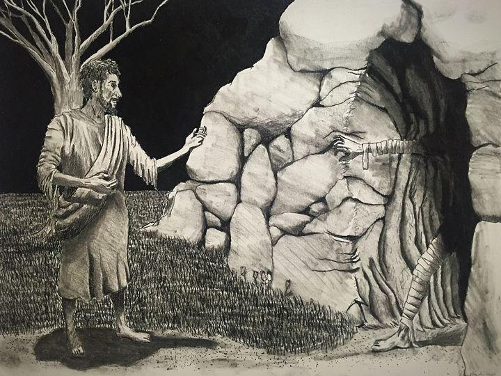 Jesus, the Resurrection - Artwork by David Hannah