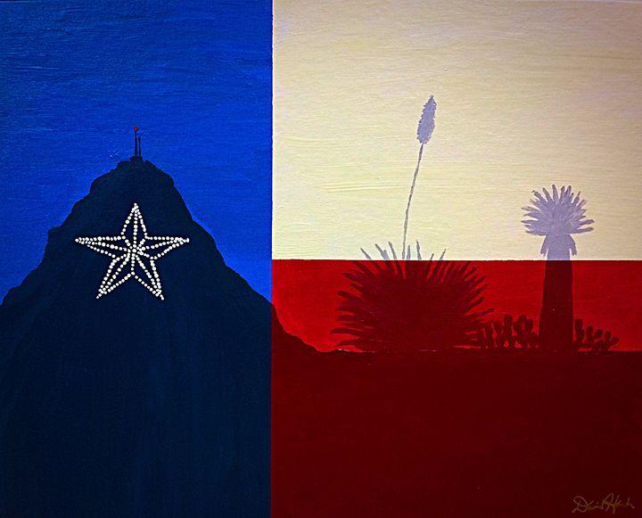 EP, TX - Artwork by David Hannah