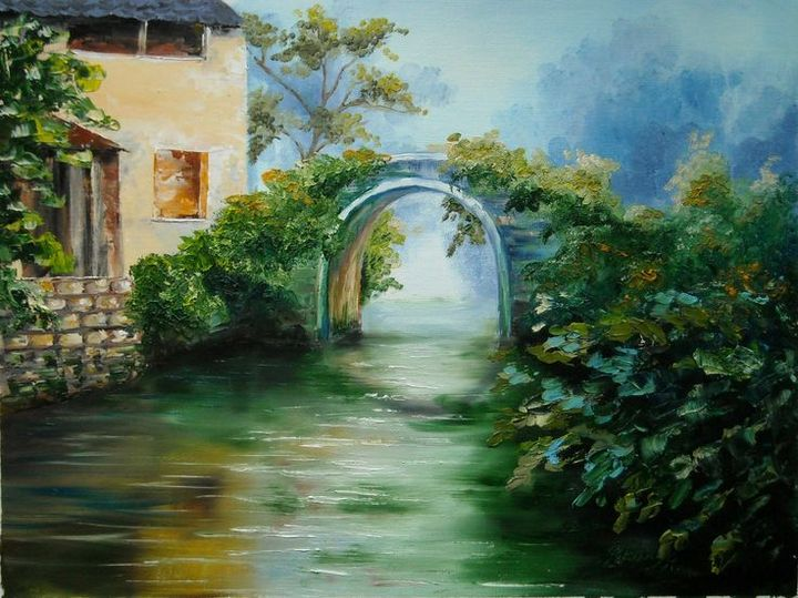 Bridge Over Calm Waters - Aartzy - Let's Talk Expressions