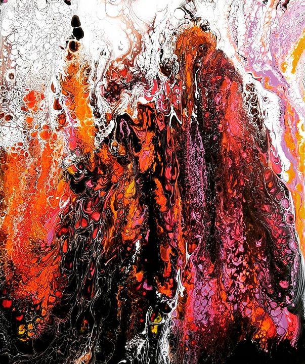 Lava Wall - Aartzy - Let's Talk Expressions
