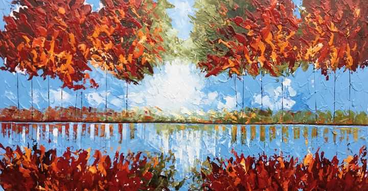 Autumn Reflections - Aartzy - Let's Talk Expressions